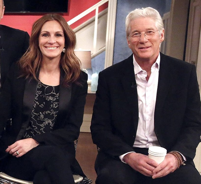 Julia Roberts i Richard Gere