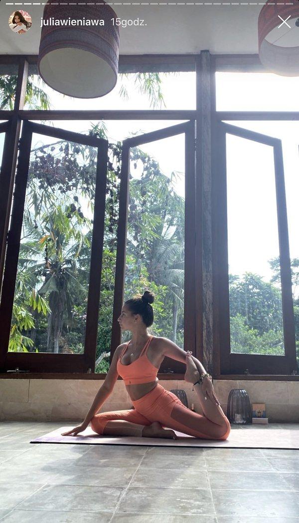 Julia Wieniawa na Bali 2019
