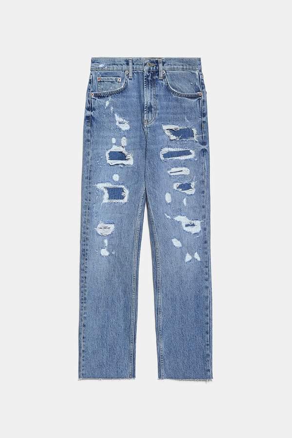 julia-wieniawa-spodnie-jeansowe-z-zara