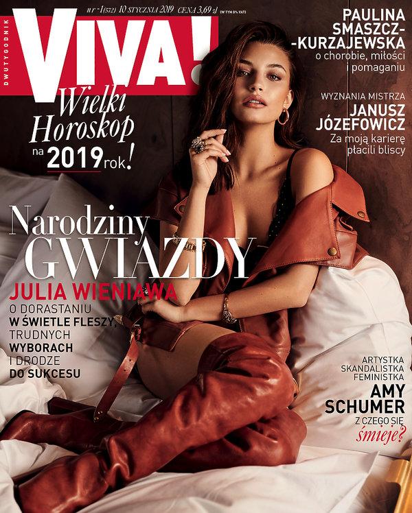 Julia Wieniawa, Viva! 1/2019 OKŁADKA
