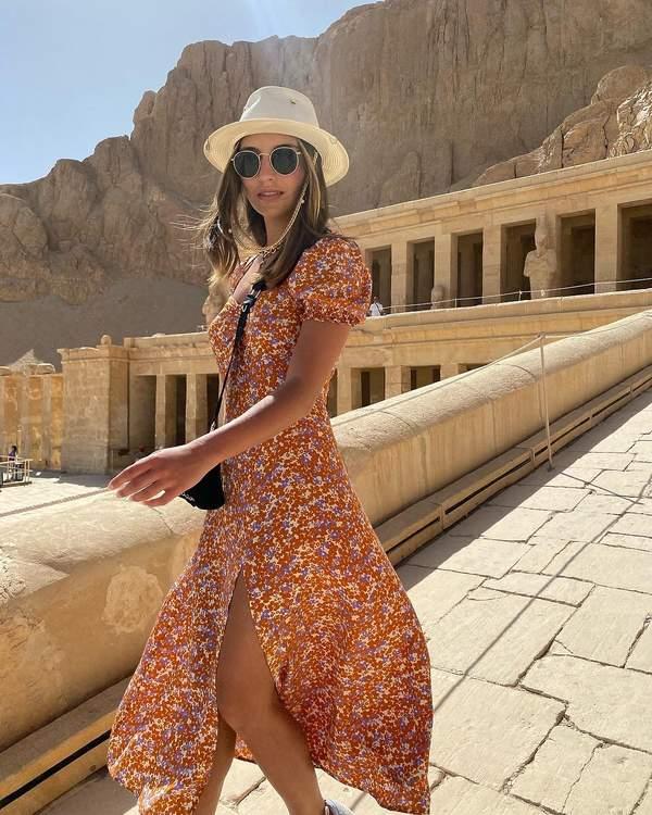 Julia Wieniawa w Egipcie