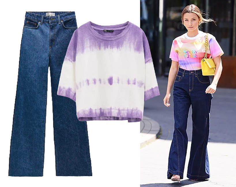 julia-wieniawa-w-modnym-zestawie-w-stylu-boho-podobny-t-shirt-i-jeansy-kupisz-w-zara1