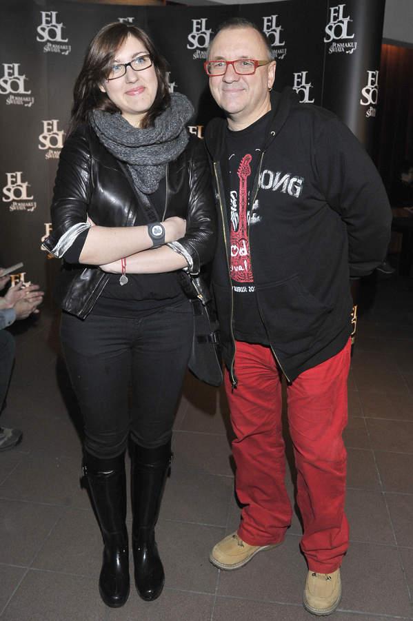 Jurek Owsiak z córką Ewą