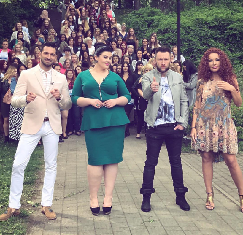 Jury Supermodel Plus Size