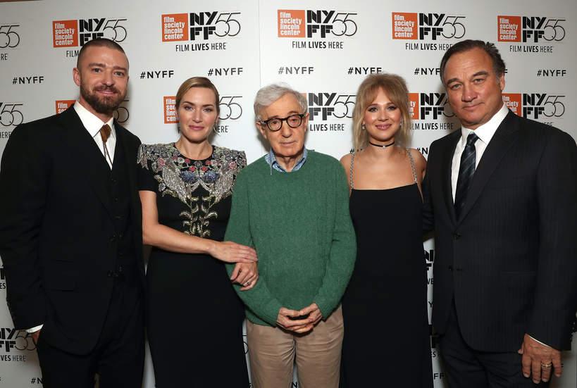 Justin Timberlake, Kate Winslet, Woody Allen, Juno Temple, Jim Belushi, 2017