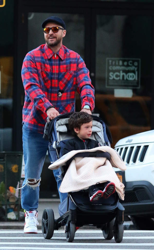 Justin Timberlake z synem, Silas