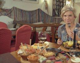 Justyna Nagłowska, zdjęcia z planu programu dla Travel Channel