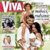 """Justyna Steczkowska z rodziną, """"Viva!"""" kwiecień 2006"""