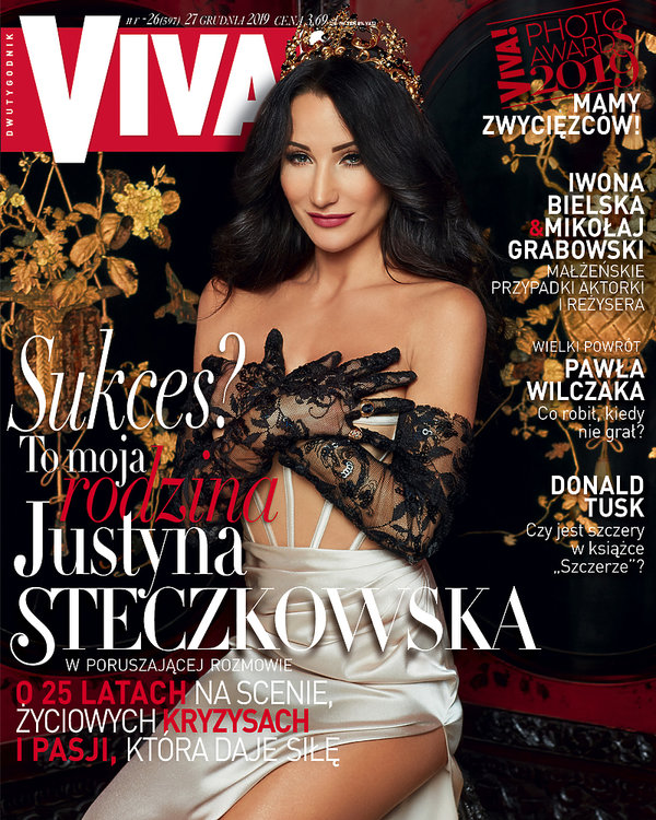 Justyna Steczkowska, Viva! 26/2019, okładka