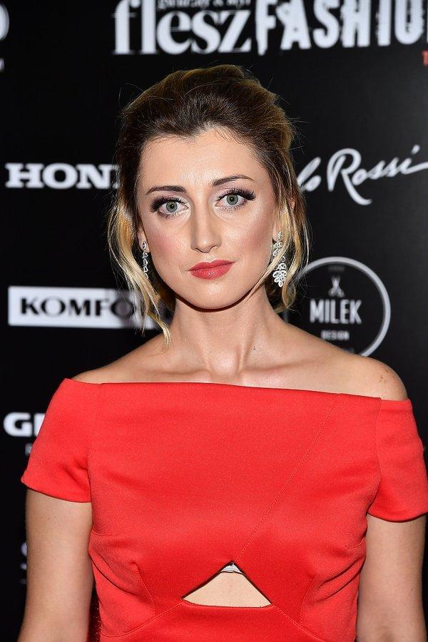 Justyna Żyła na Flesz Fashion Night