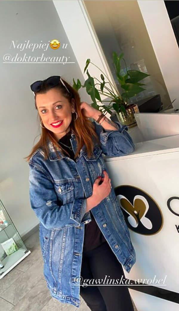 Justyna Żyła nowy kolor włosów brunetka