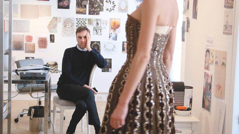 Kadr z dokumentu Dior and I