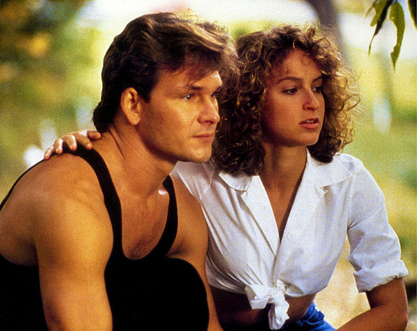 kadr z filmu Dirty Dancing