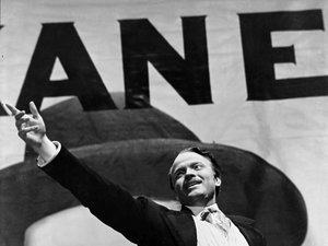 kadr z filmu Obywatel Kane