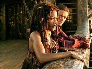 kadr z filmu Piraci z Karaibów. Na krańcu świata