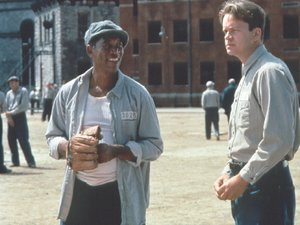 kadr z filmu Skazani na Shawshank. Monolith Video