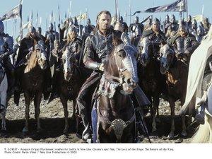 kadr z filmu Władca pierścieni: Powrót króla/Galapagos Films