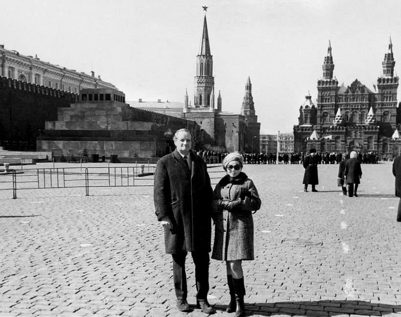 Kalina Jędrusik i Stanisław Dygat