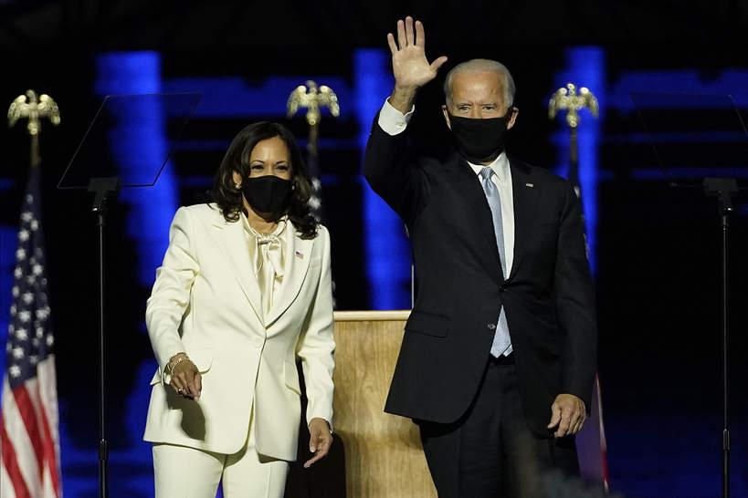 Kamala Harris, Joe Biden