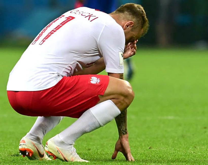 Kamil Grosicki, mecz Polska - Kolumbia