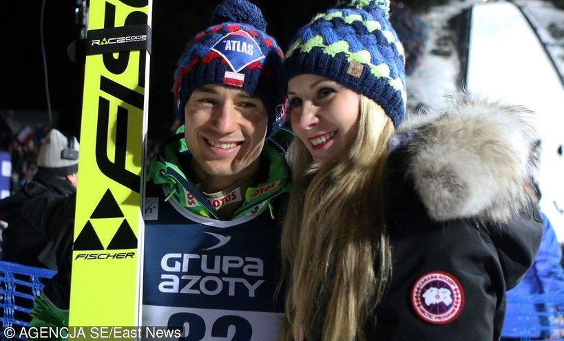 Kamil Stoch wygrał Turniej Czterech Skoczni! Pamiętacie, jak wygląda jego żona? Jest piękna! ZDJĘCIA