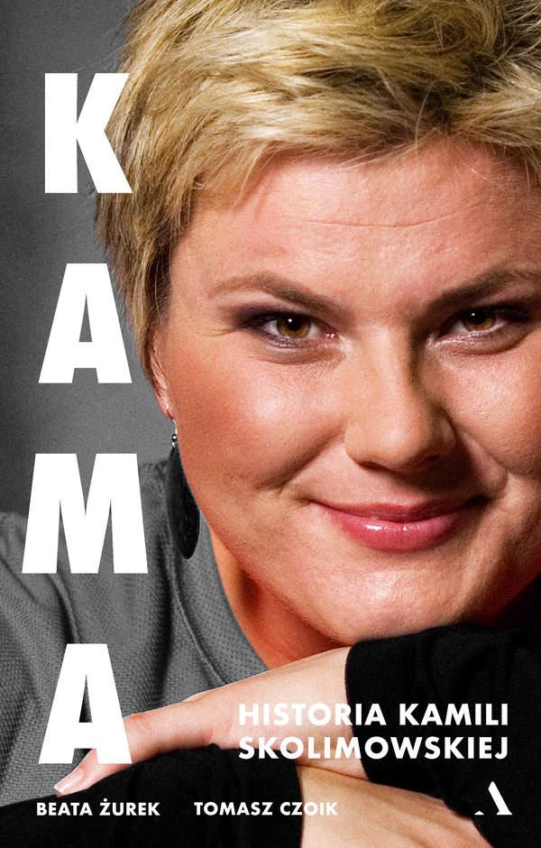 Kamila Skolimowska, okładka książki