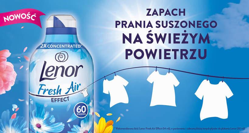 Kampania płynu Lenor