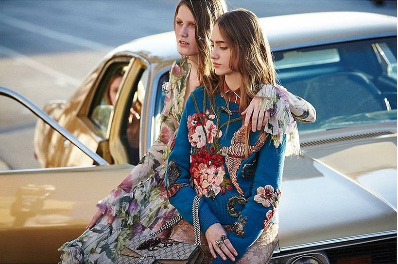 Kampania reklamowa Gucci jesień-zima 2015-16
