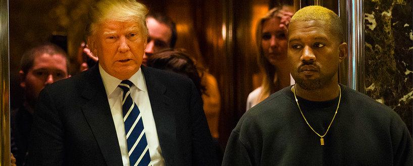 Kanye West i Donald Trump