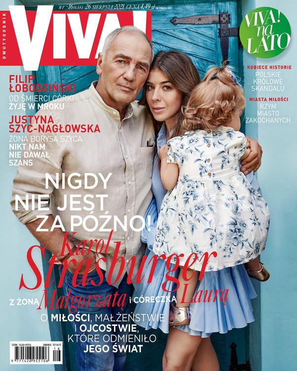 Karol Strasburger, Małgorzata Strasburger, Viva! 16/2021, okładka