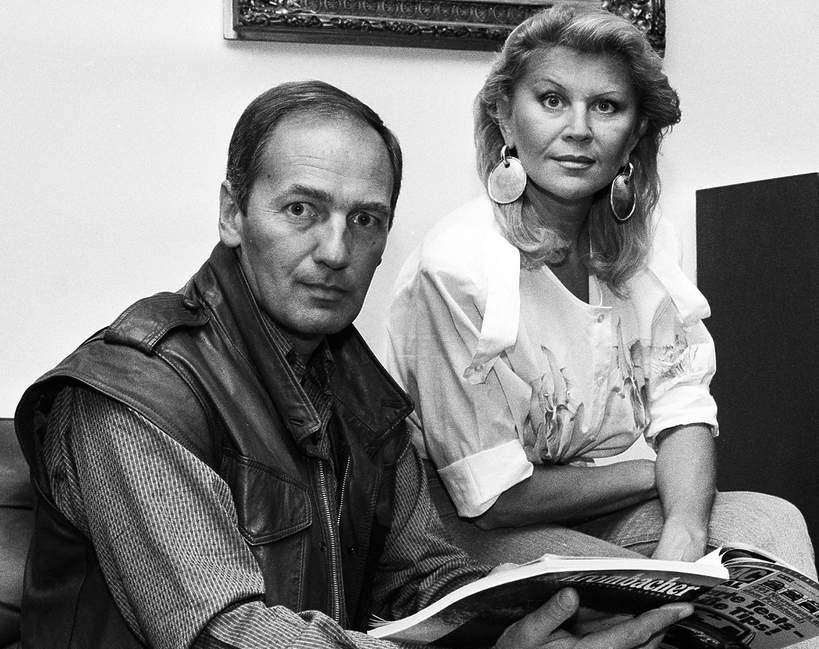 karol strasburger z żoną Ireną