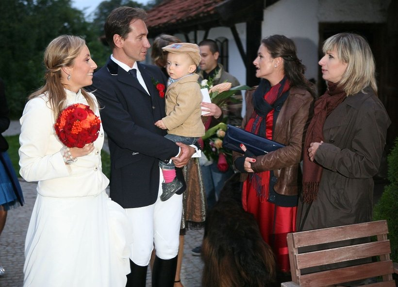 Karolina Ferenstein-Kraśko i Piotr Kraśko, ślub