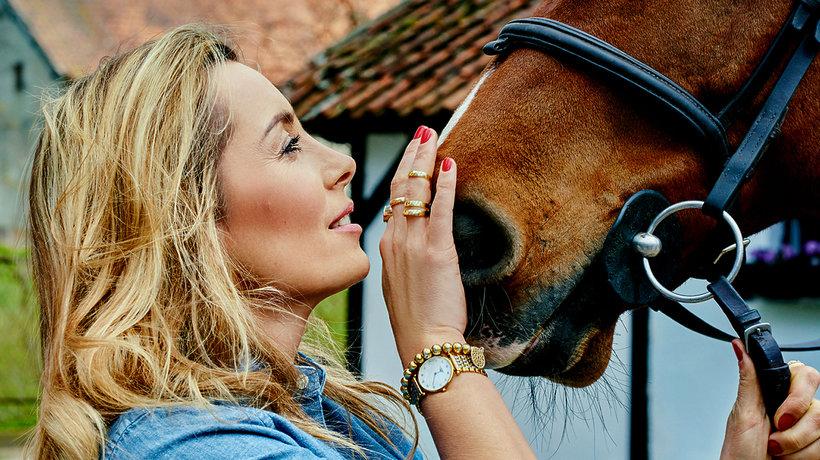 Karolina Ferenstein–Kraśko z koniem