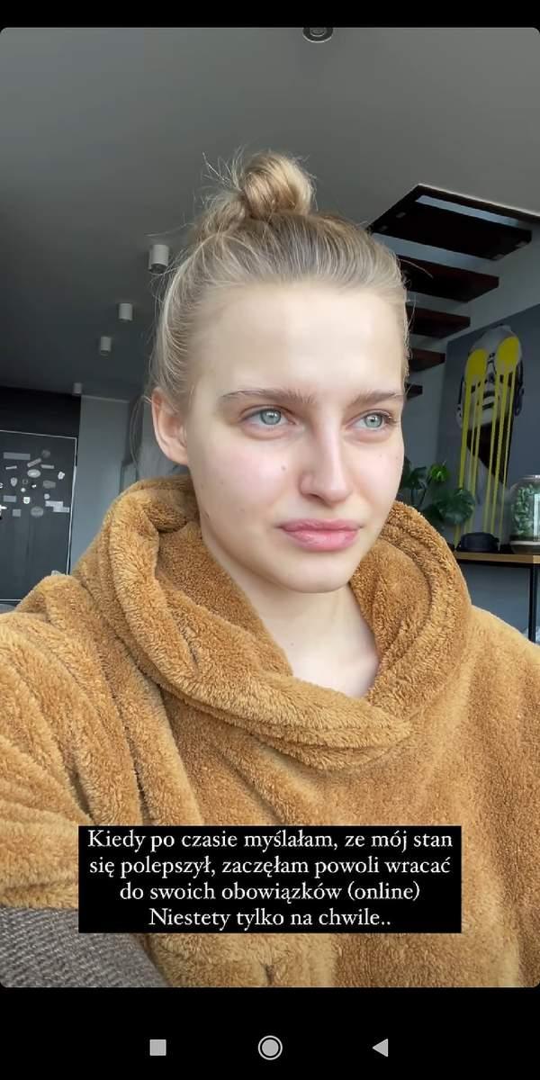 Karolina Pisarek, choroba, CoVID-19