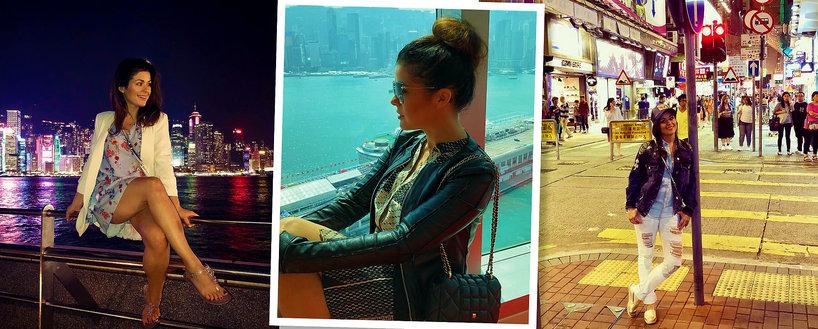 Kasia Cichopek na wakacjach w Hong Kongu, Katarzyna Cichopek, wakacje gwiazd