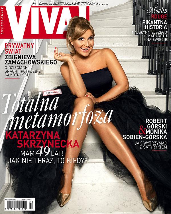 Kasia Skrzynecka, Katarzyna Skrzynecka, Viva! 22/2019 okładka
