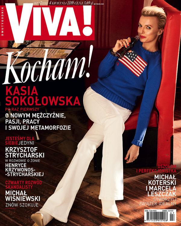 Kasia Sokołowska, Viva! 7/2019 okładka