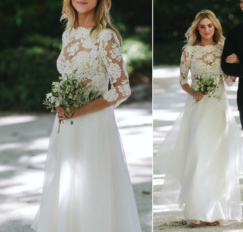 Kasia Tusk, suknia ślubna