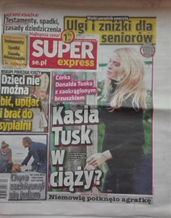 Kasia Tusk w ciąży