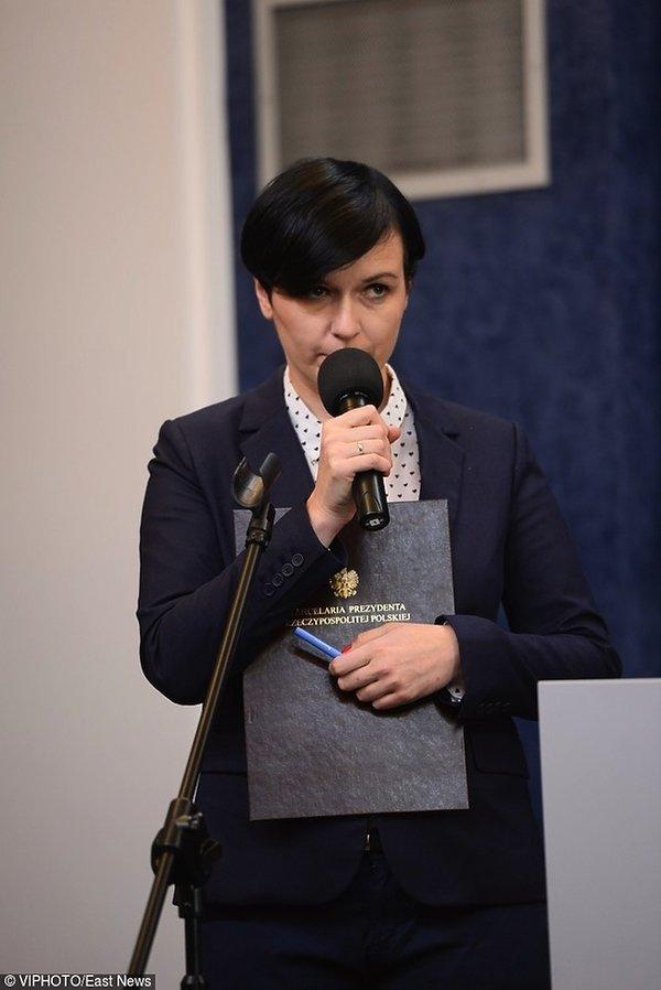 Katarzyna Adamiak-Sroczyńska, rzeczniczka prezydenta Andrzeja Dudy