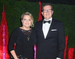 Katarzyna Bosacka z mężem, Marcin Bosacki