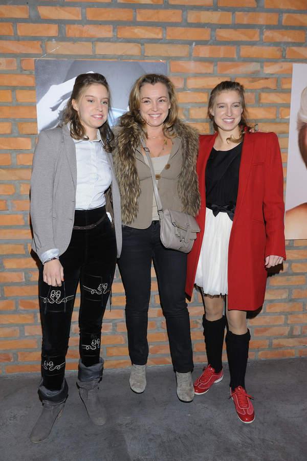 Katarzyna Chrzanowska z córkami, Stefania i Celina 2011