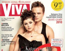 Katarzyna Cichopek i Marcin Hakiel na okładce Vivy!, luty 2010
