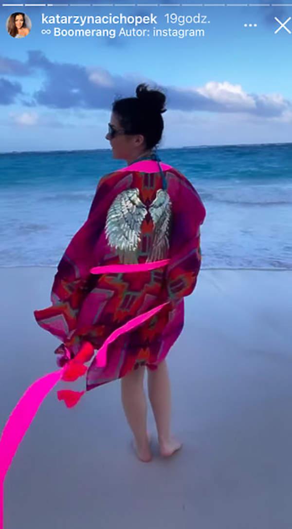 Katarzyna Cichopek na wakacjach na Dominikanie 2021