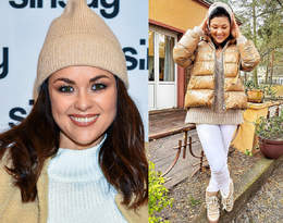 Katarzyna Cichopek w śniegowcach za ponad tysiąc złotych. Wiemy, gdzie kupić podobne!