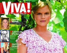 Katarzyna Figura na okładce magazynu Viva!