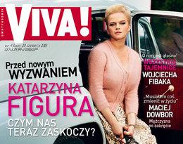 Katarzyna Figura na okładce VIVY! czerwiec 2013