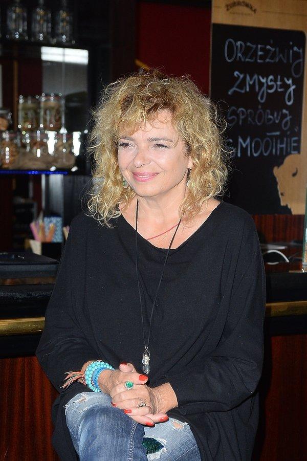 Katarzyna Grochola w 2017 roku