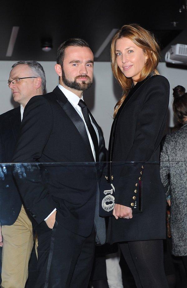 Katarzyna Jordan i Sebastian Kulczyk
