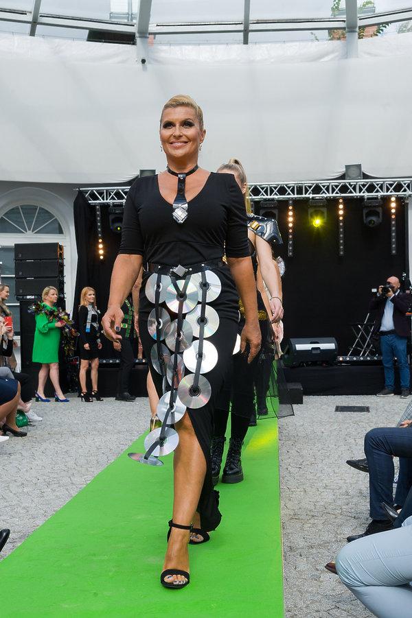 Katarzyna Skrzynecka na wybiegu 2019